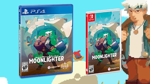 [Switch] Moonlighter ganha data de lançamento e terá versão física pela Merge Games