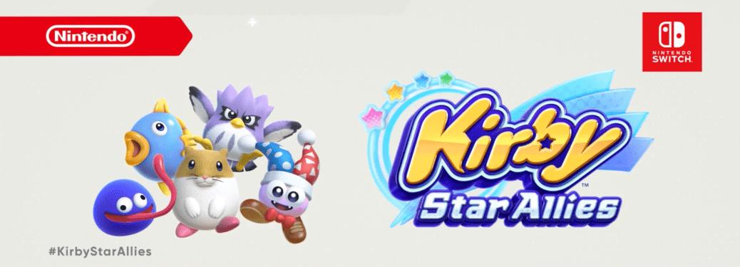 Kirby Star Allies terá atualização gratuita onde adicionará Gooey, Rick Kine & Coo, e Marx ao jogo