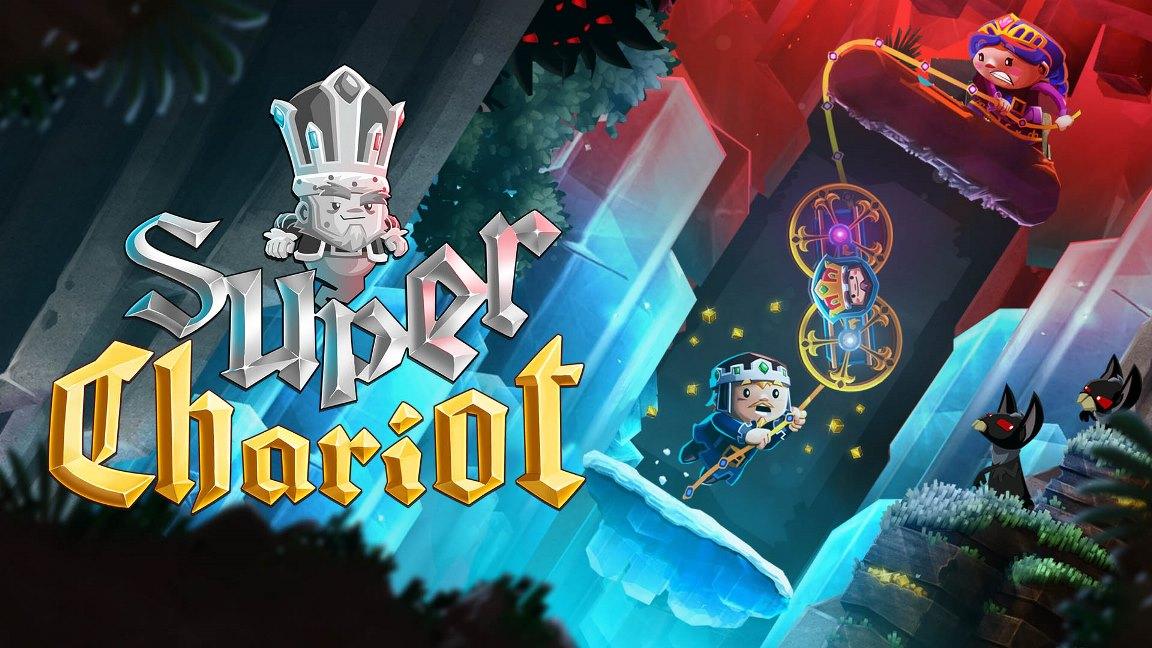 Microïds revela data de lançamento para Super Chariot no Switch, jogo será vendido em mídia física