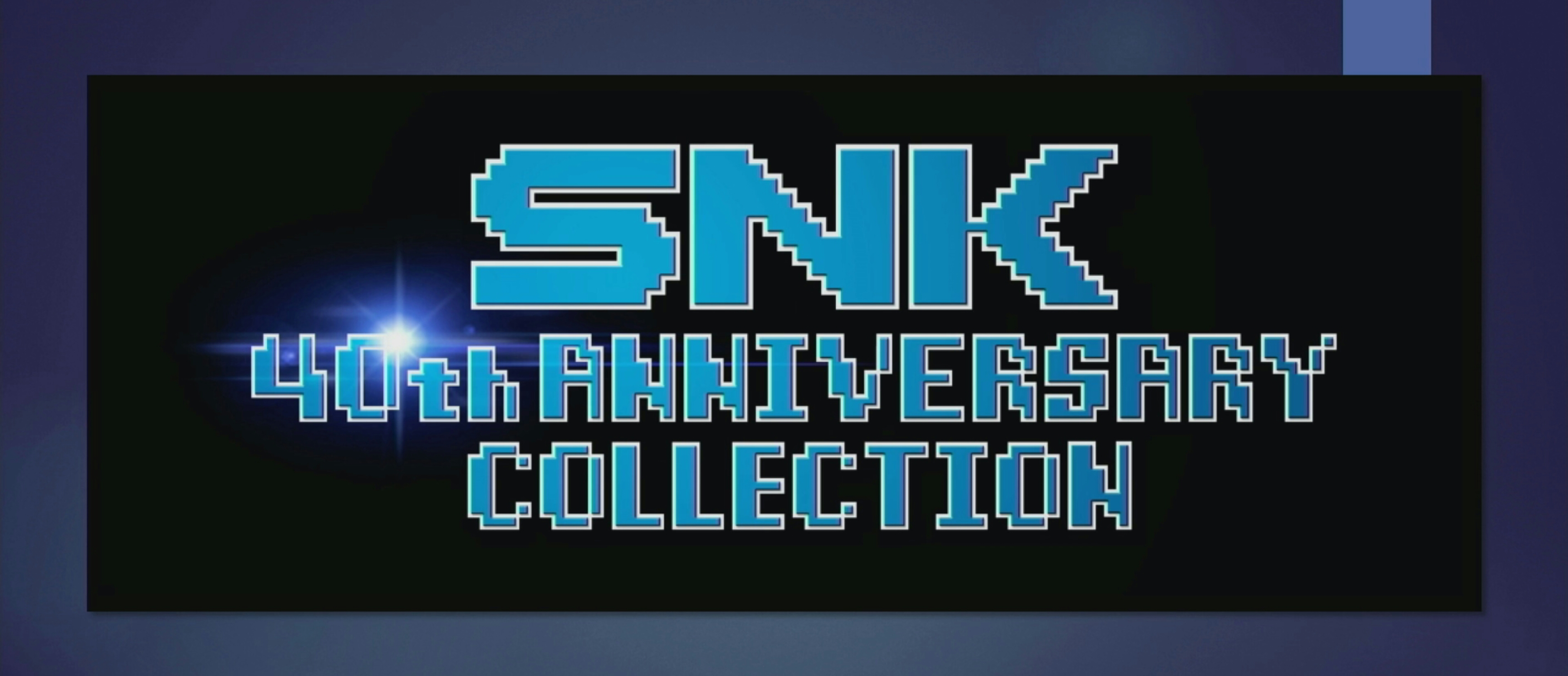 PAX East 2018: NIS America anuncia SNK 40th Anniversary Collection para o Nintendo Switch