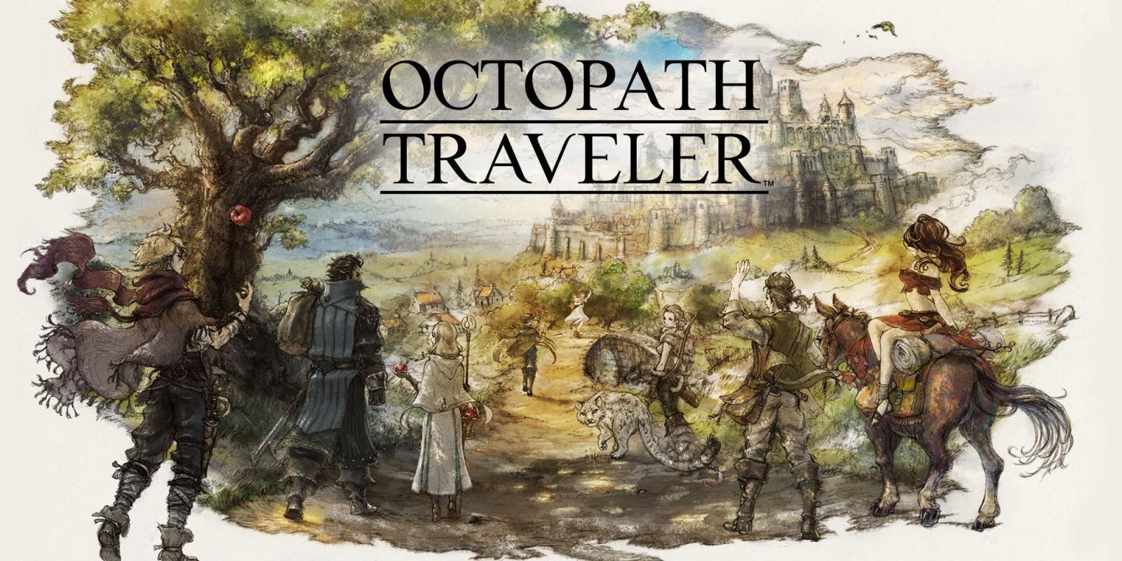Demo de Octopath Traveler para Switch já conta com mais de 1.3 milhões de Downloads