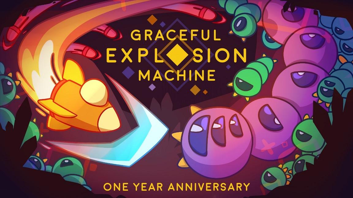 Graceful Explosion Machine vende bem no Switch; Novo jogo confirmado para 2019