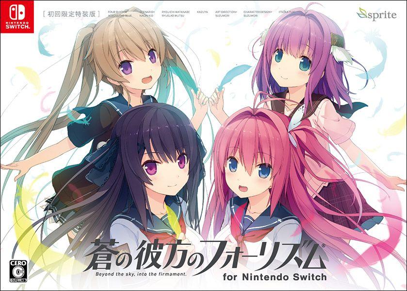 Ao no Kanata no Four Rhythm faz sucesso no Switch