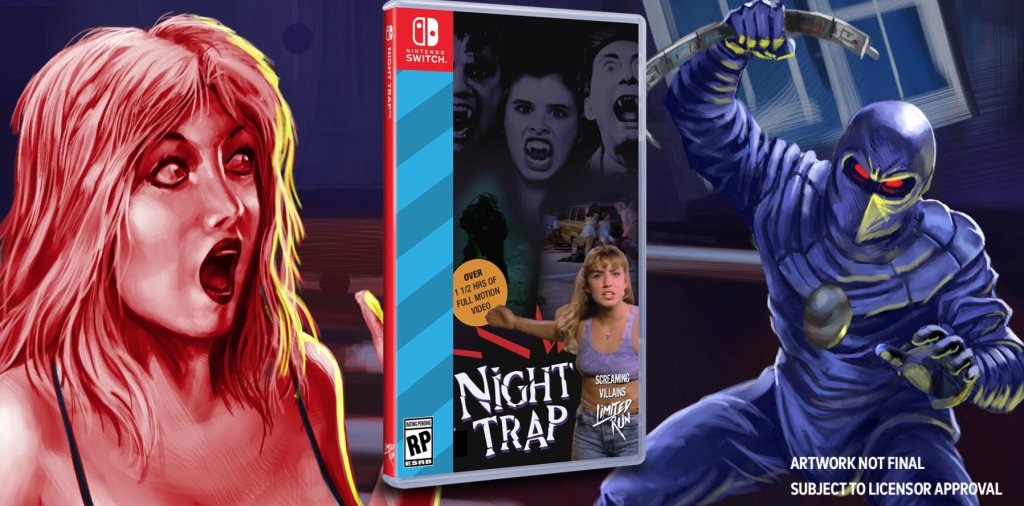 Limited Run Games anuncia Night Trap: 25th Anniversary Edition para o Nintendo Switch