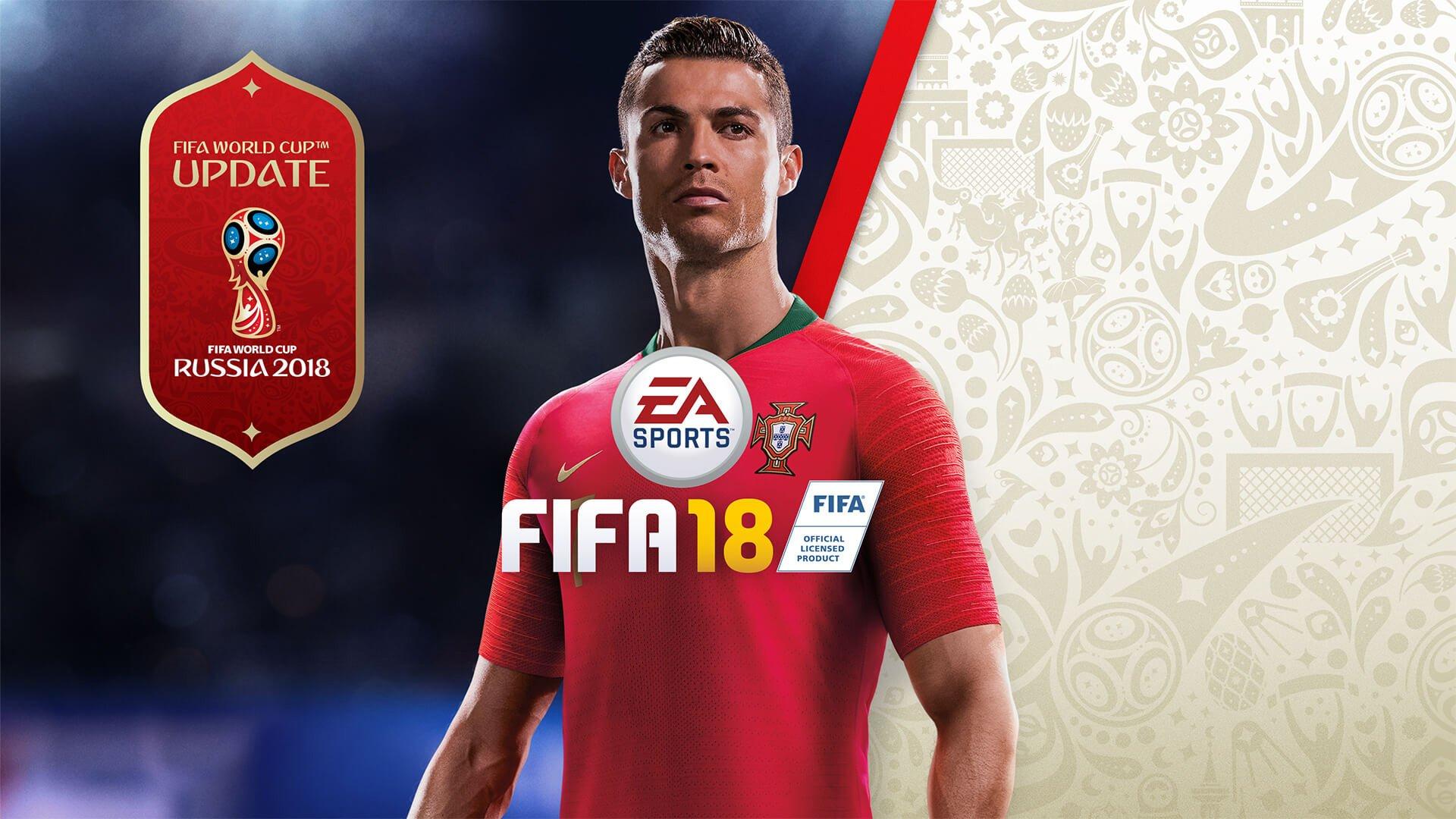 FIFA 18 receberá atualização gratuita onde adiciona a World Cup Russia 2018