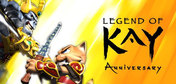 Versão para Switch de Legend of Kay Anniversary chega em Maio