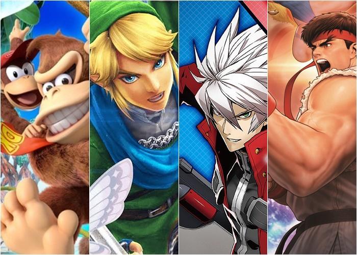 Jogos de Nintendo Switch em formato físico para o mês de Maio