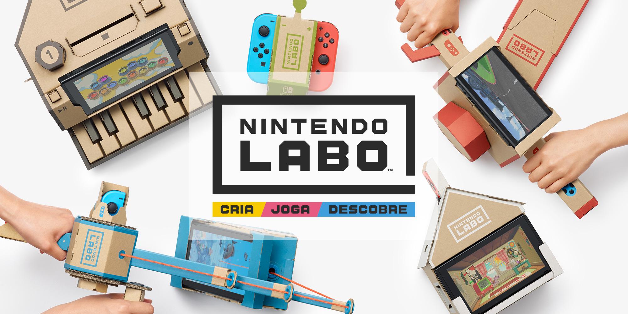 Segundo Emily Rogers, o 4º kit do Nintendo Labo chega no início de abril/2019