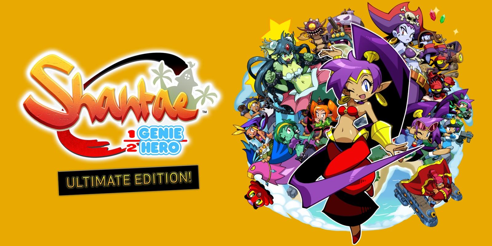 """Versão """"Day One Edition"""" de Shantae: Half-Genie Hero Ultimate Edition para Switch vende em tempo recorde"""