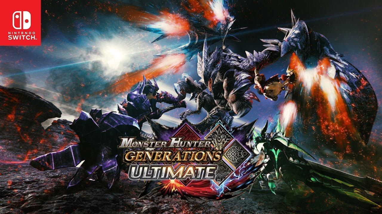 Capcom lançará Monster Hunter XX: Nintendo Switch Ver. na América do Norte e Europa, jogo se chamará Monster Hunter Generations Ultimate