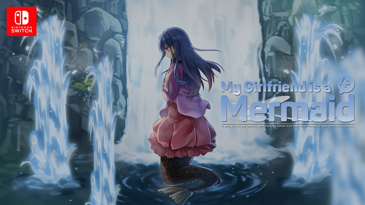 Visual Novel My Girlfriend is a Mermaid!? será lançado na América do Norte e Europa