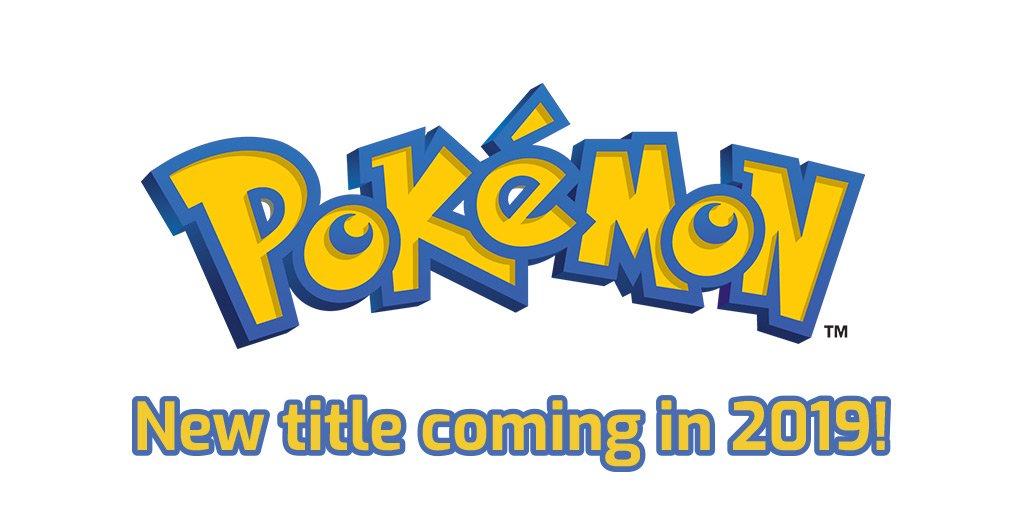 Novos títulos de Pokémon RPG tradicional serão revelados em 2019