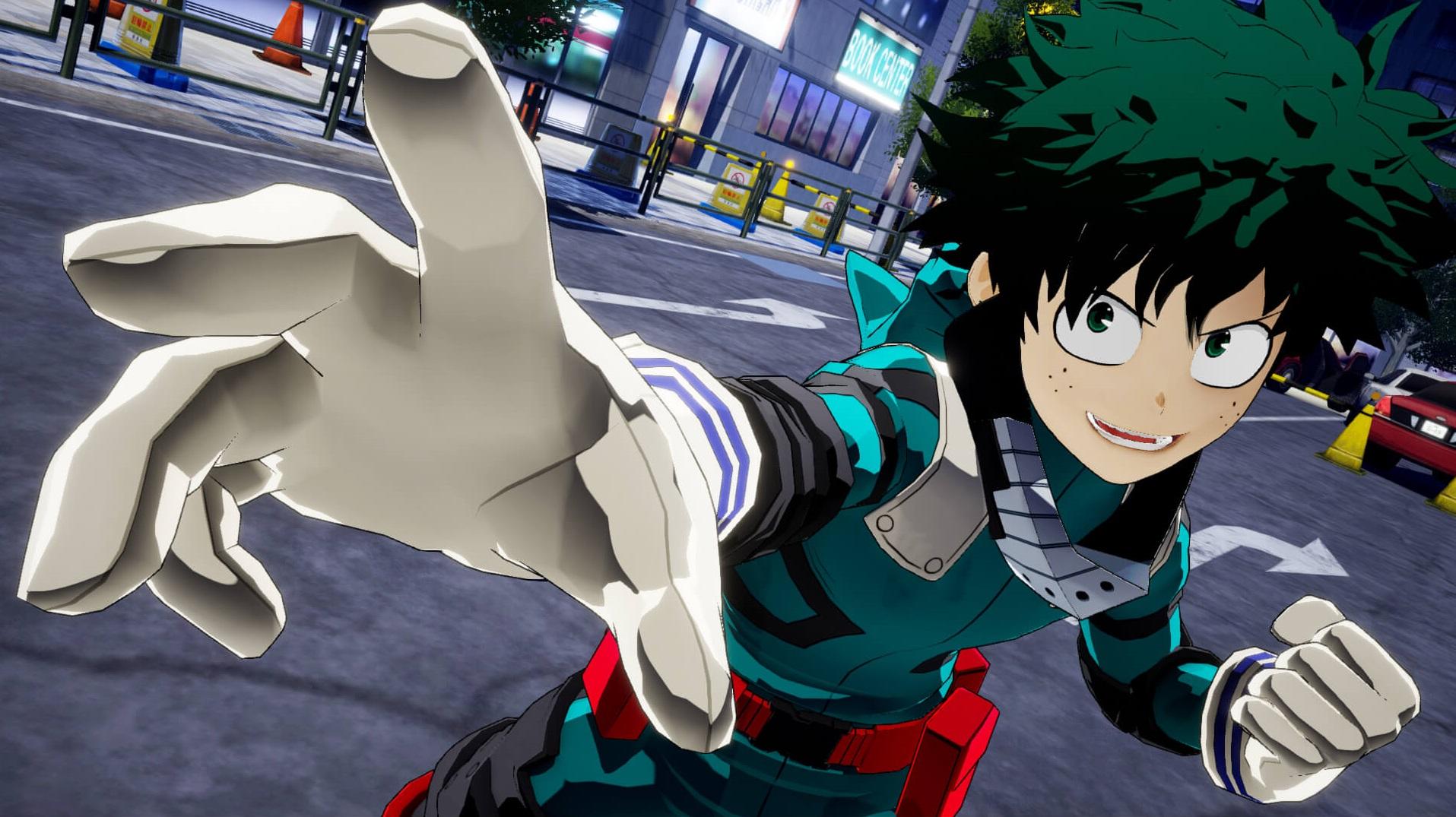 Aparentemente, My Hero Academia: One's Justice está esgotado no Japão