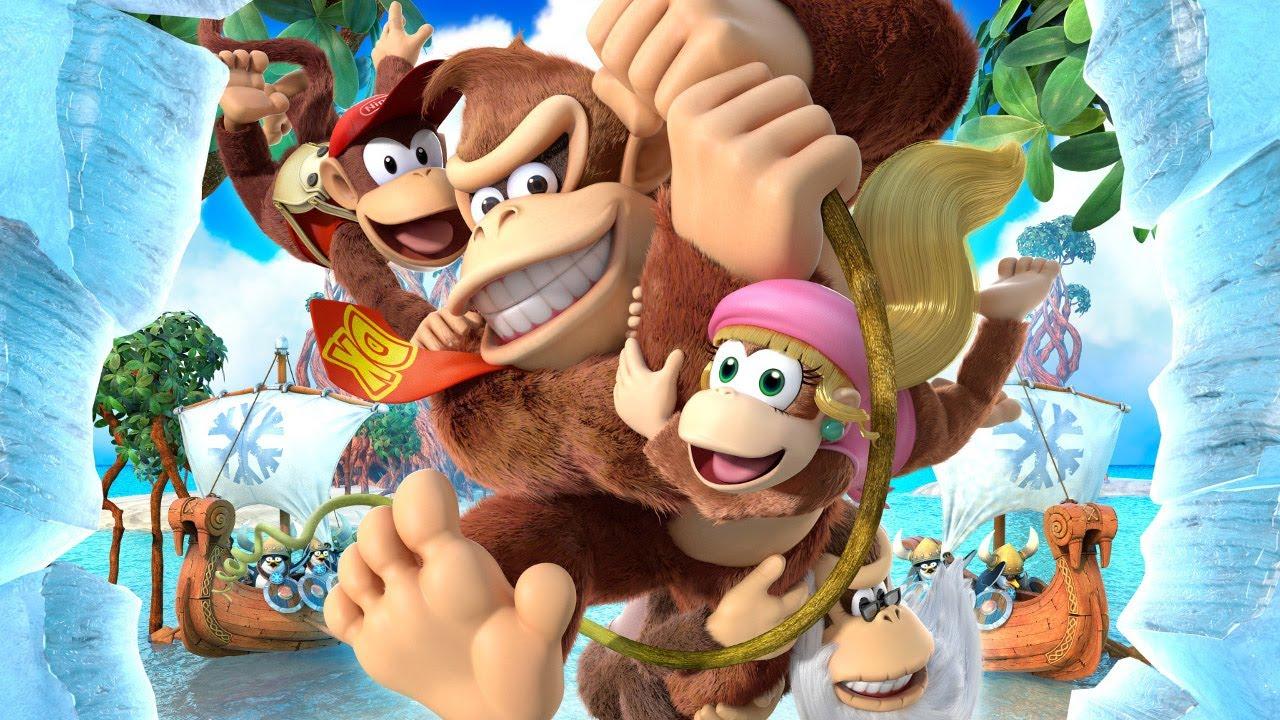 Versão para Switch de Donkey Kong Country: Tropical Freeze vendeu 65% de seu primeiro envio no Japão