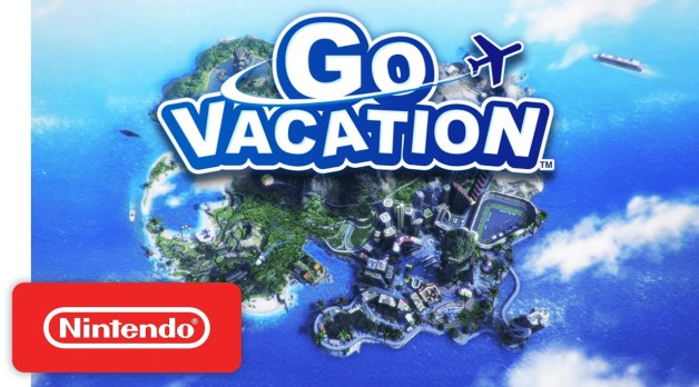 Nintendo em parceira com a Bandai Namco anunciam Go Vacation para o Nintendo Switch