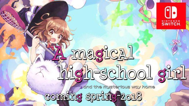 Futuro título de Switch, A Magical High School Girl ganha data de lançamento