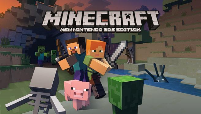 Minecraft: New 3DS Edition irá ganhar o boost de desempenho, o pacote Super Mario Mash-Up, e mais