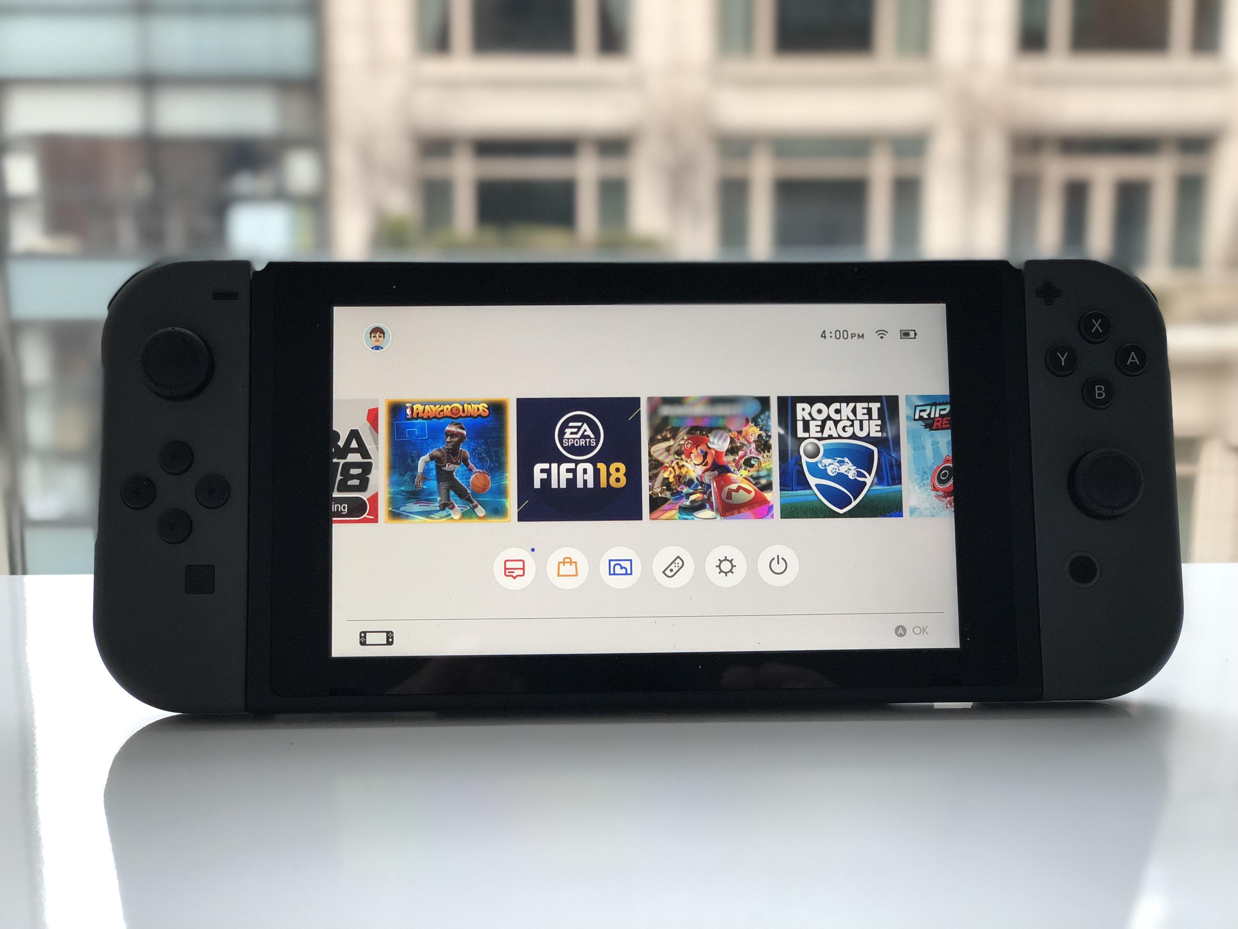 Nintendo diz que não planeja lançar o Nintendo Switch sem a dock nas Américas
