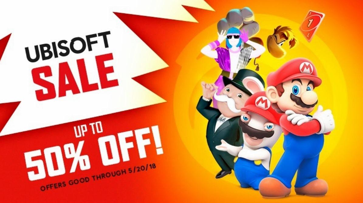 Ubisoft Sale – Mario + Rabbids Kingdom Battle, Rayman Legends: Definitive Edition, Just Dance 2018 e outros jogos com até 50% de desconto na eShop