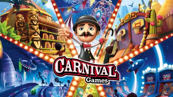 2K anuncia Carnival Games para o Nintendo Switch, jogo chega em novembro de 2018