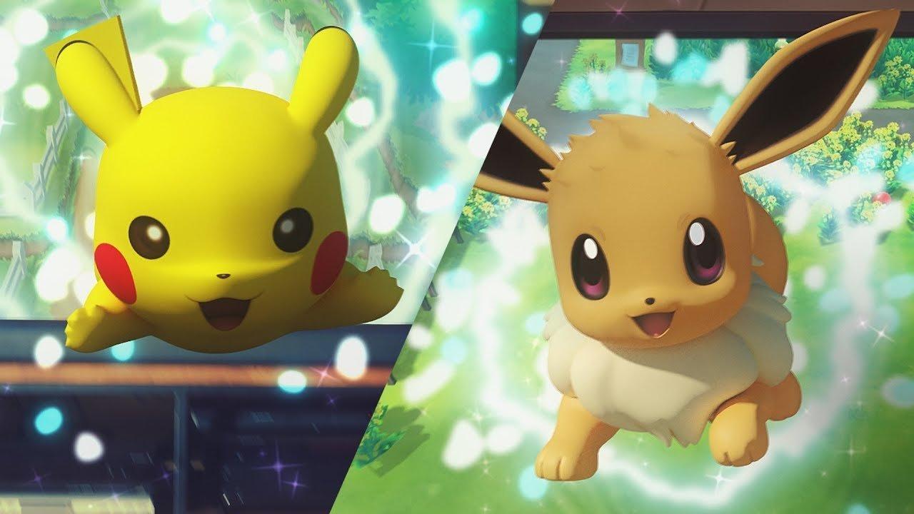 Pokémon Let's Go, Pikachu! & Pokémon Let's Go, Eevee! serão jogáveis durante a E3 2018