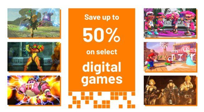 Nintendo inicia grande promoção na eShop