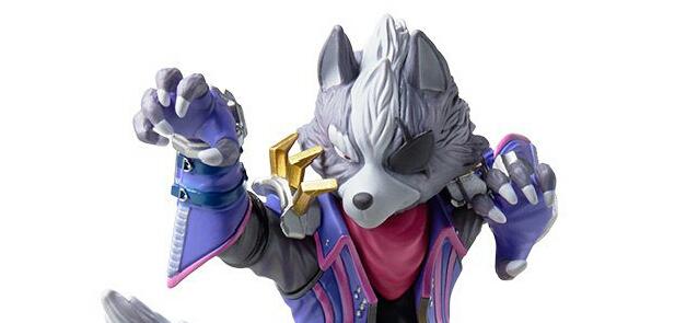 Nintendo anuncia amiibo de Wolf, data de lançamento e relançamento dos amiibo da série Super Smash Bros. for Wii U/3DS