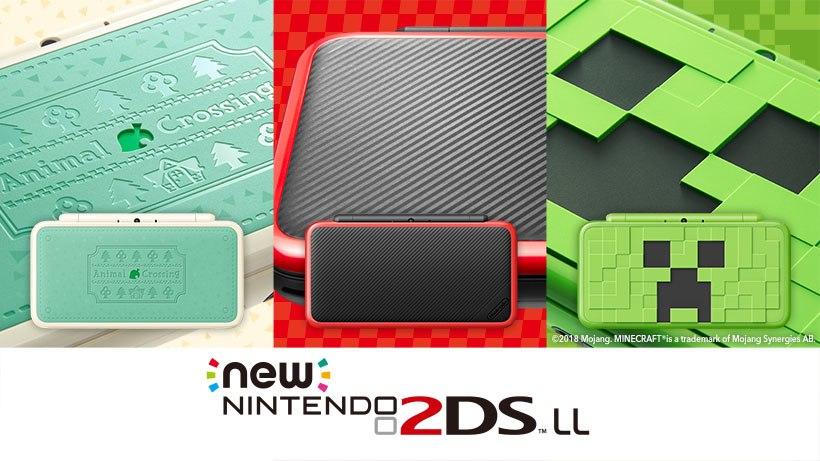 New Nintendo 2DS XL ganhará três novos bundles no Japão