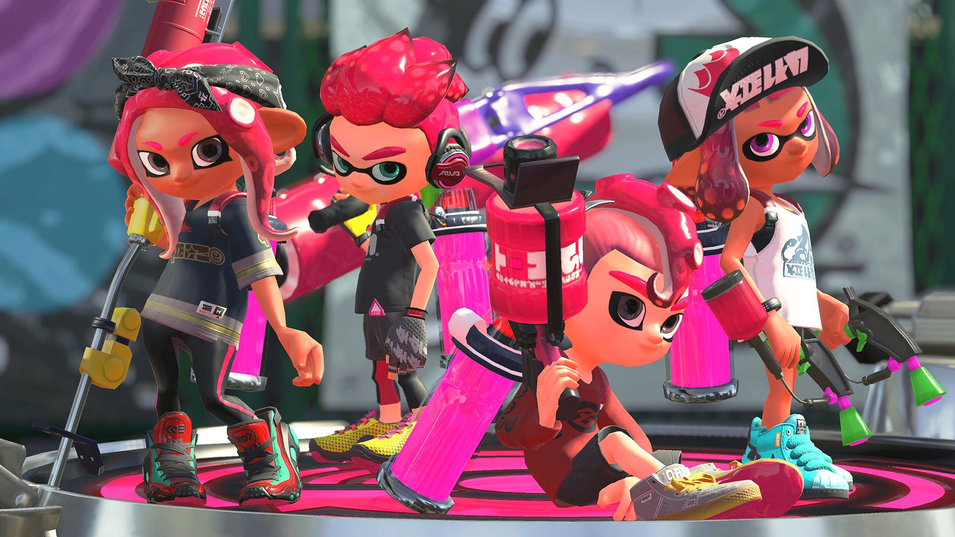 Japão: Mais de 50% dos proprietários de Switch possuem Splatoon 2