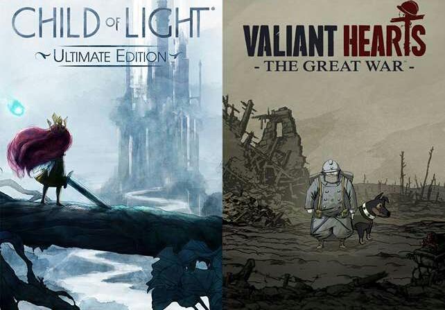 Child of Light: Ultimate Edition e Valiant Hearts: The Great War estão chegando ao Nintendo Switch