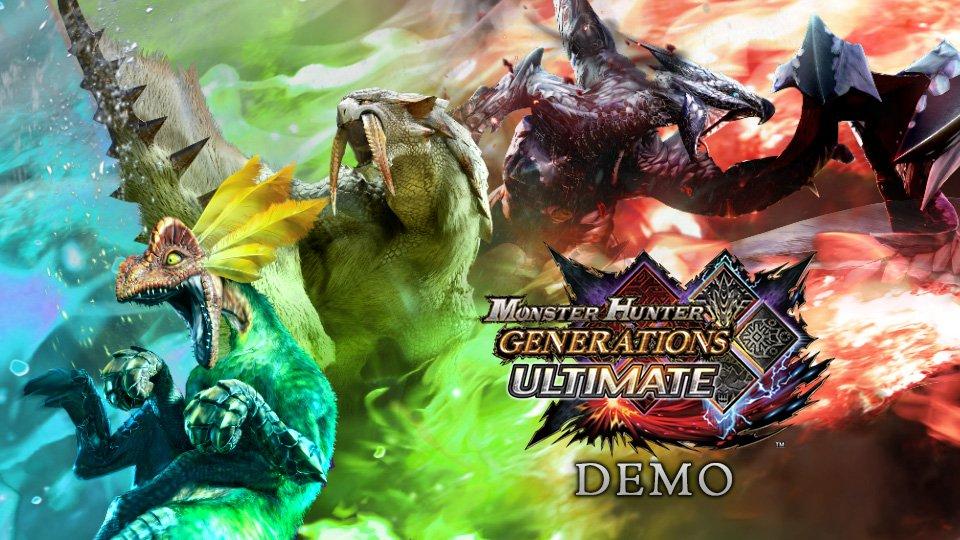 Demo de Monster Hunter Generations Ultimate chega amanhã na eShop do Nintendo Switch