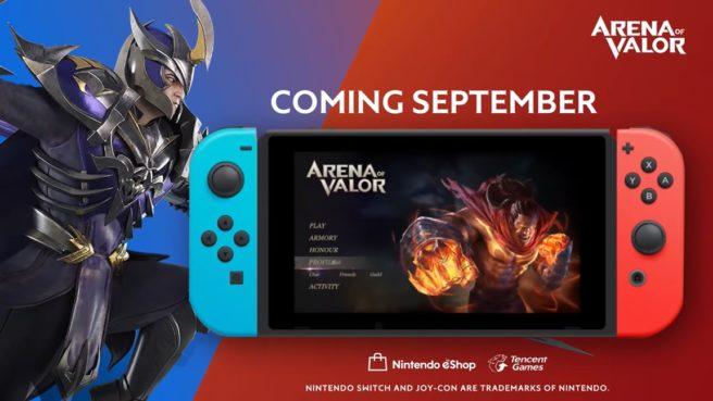 Não será necessário pagar a rede online do Switch para jogar Arena of Valor