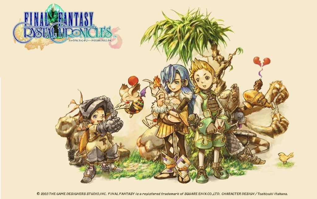 Square Enix anuncia Final Fantasy Crystal Chronicles Remastered Edition para o Nintendo Switch