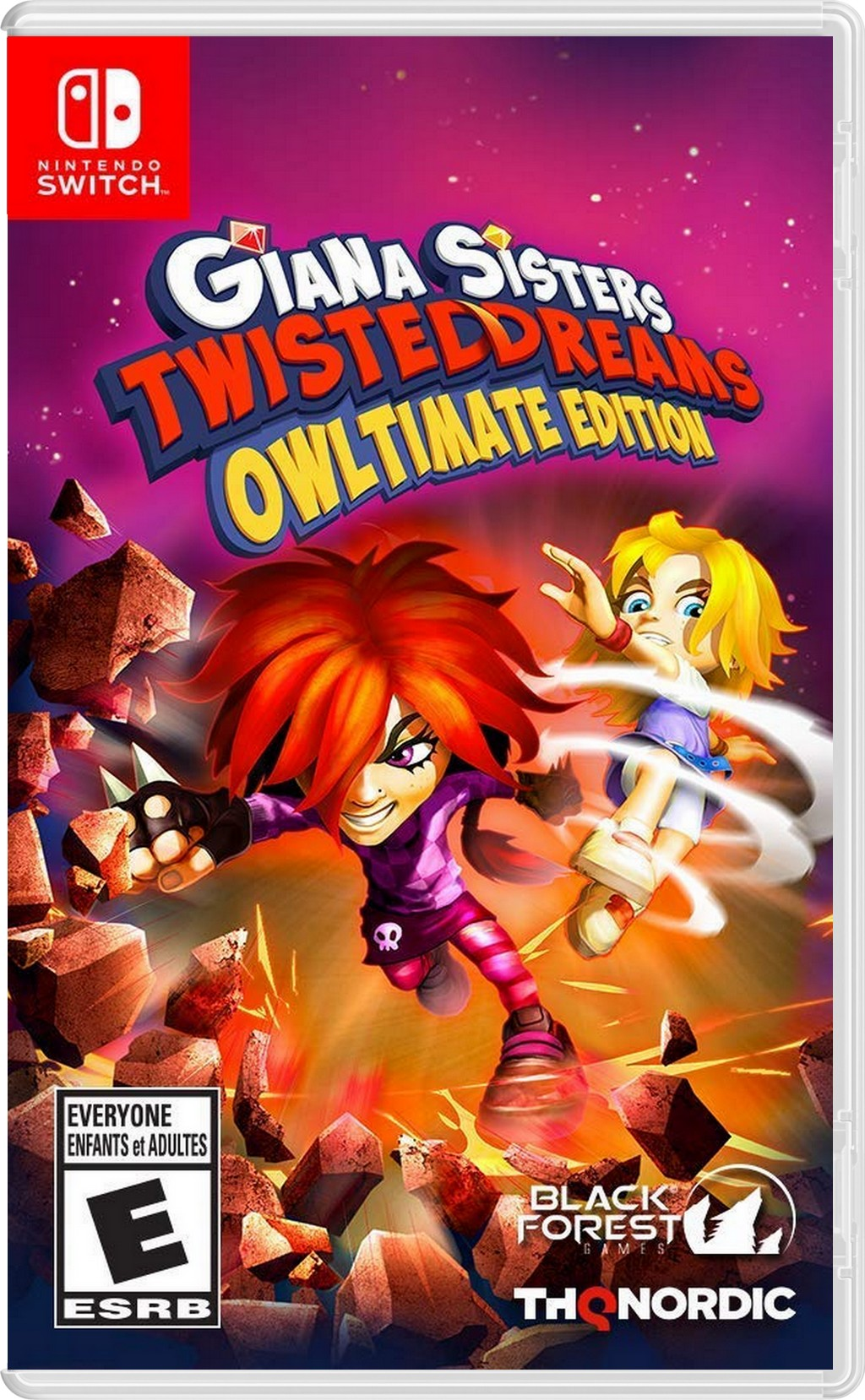 Giana Sisters Twisted Dreams - Owltimate Edition