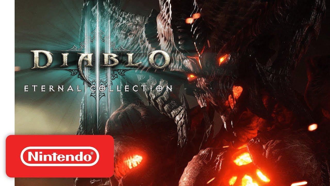 Nintendo Switch) Diablo III: Eternal Collection ganha data de lançamento e  novos detalhes – NintendoBoy