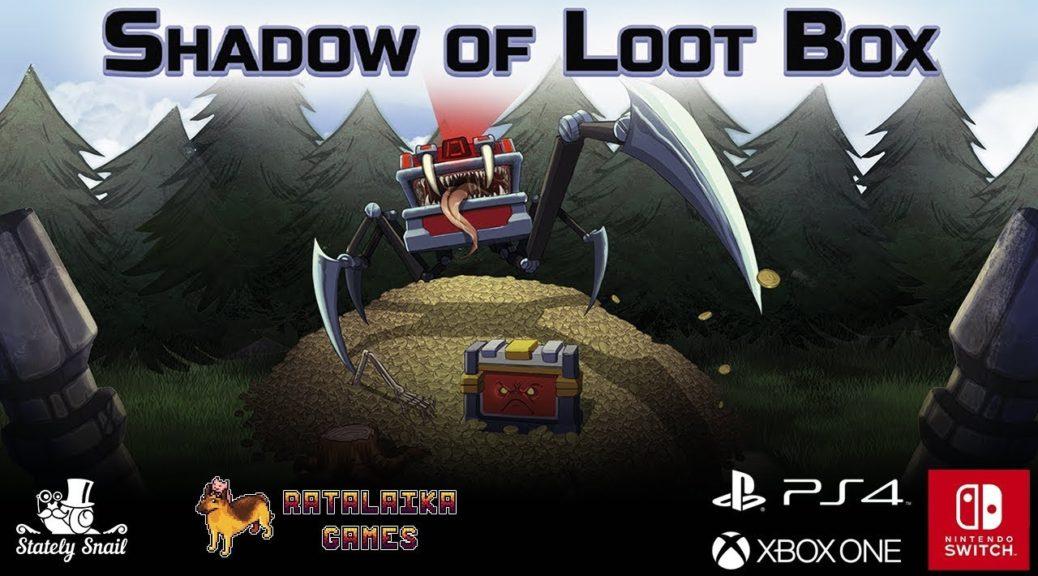 Ratalaika Games anuncia Shadow of Loot Box para o Nintendo Switch; trailer