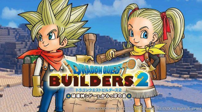 [Switch] Primeira DLC de Dragon Quest Builders 2 chega ainda em fevereiro; Conteúdo