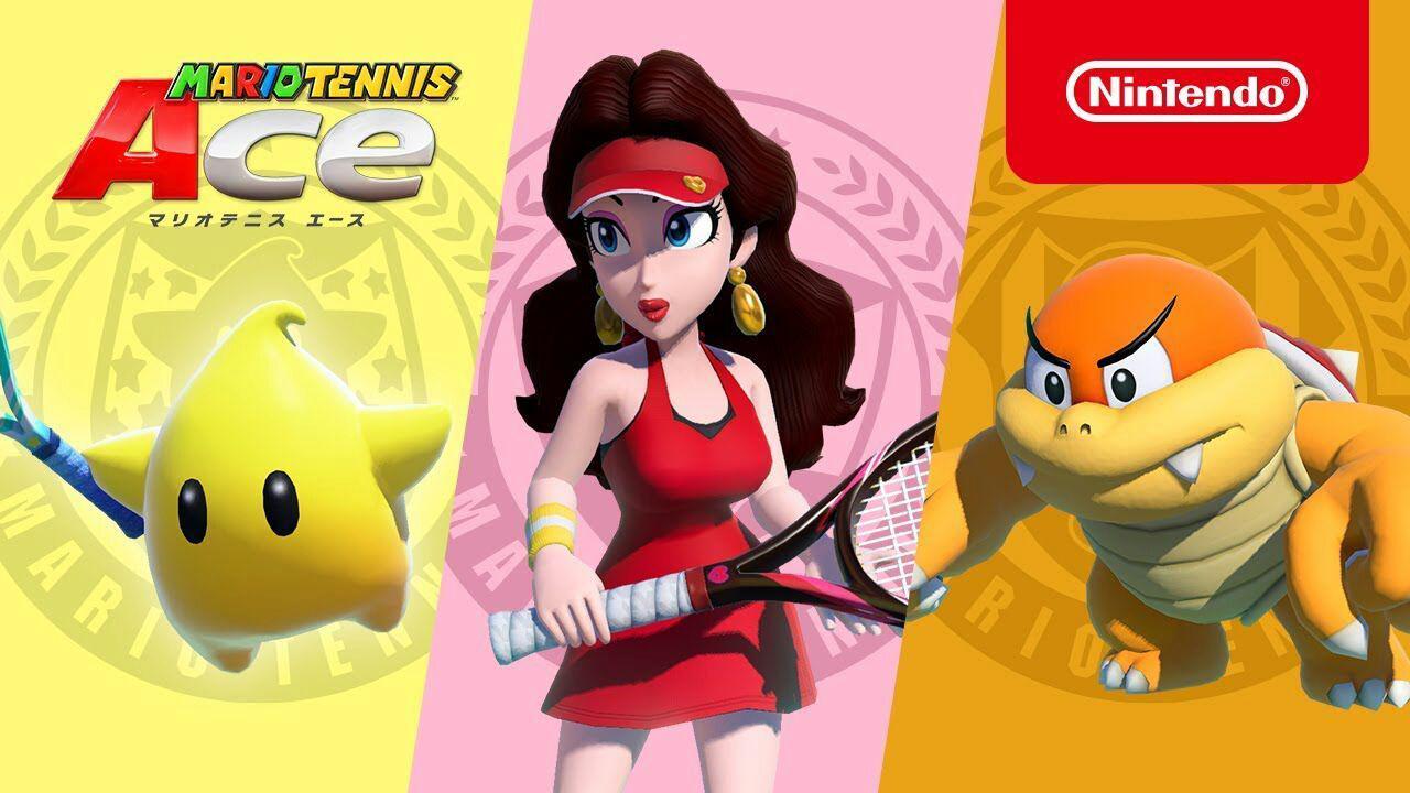 Luma, Pauline e Boom Boom serão adicionados em Mario Tennis Aces no próximo ano
