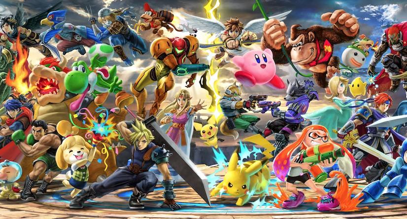 Japão: Smash Bros. Ultimate vendeu mais de 300,000 cópias digitais em dezembro