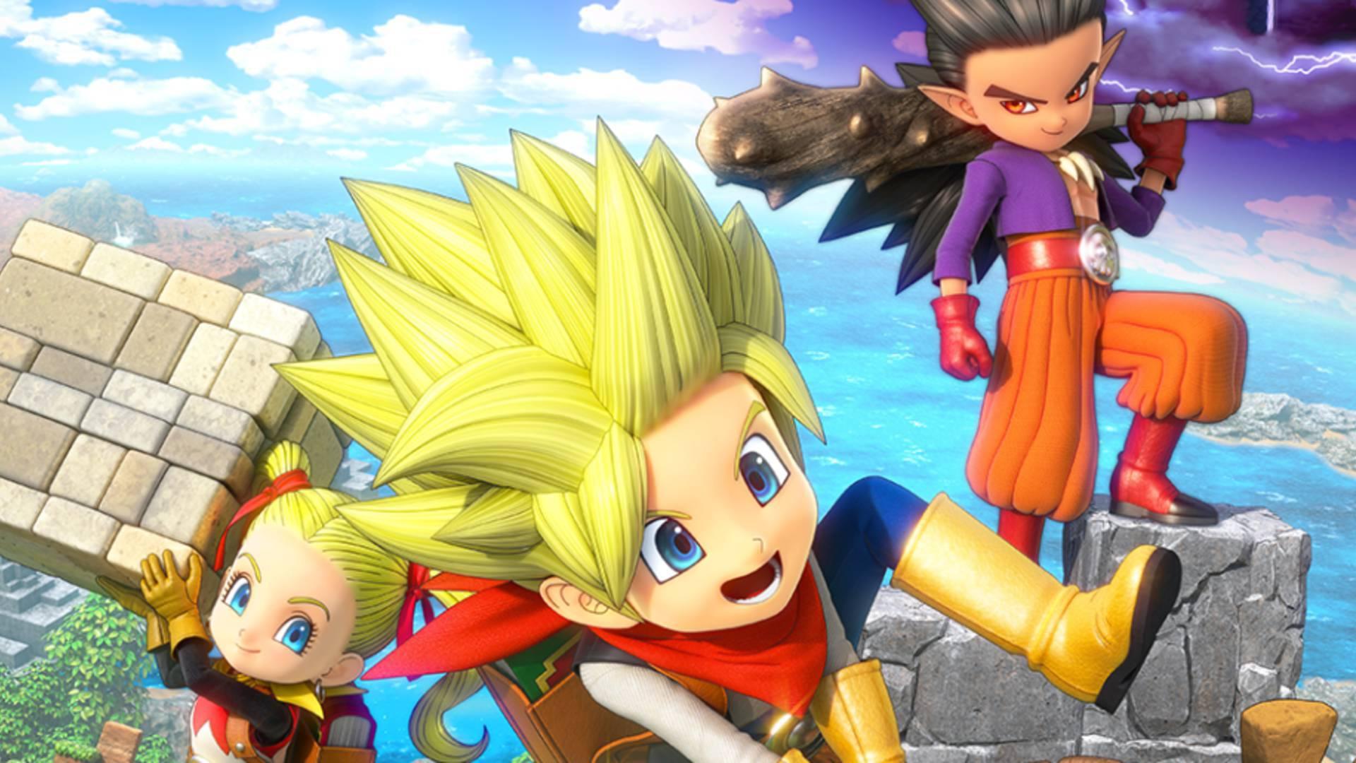 [Switch] Dragon Quest Builders 2 vendeu 50% de seu envio inicial no Japão