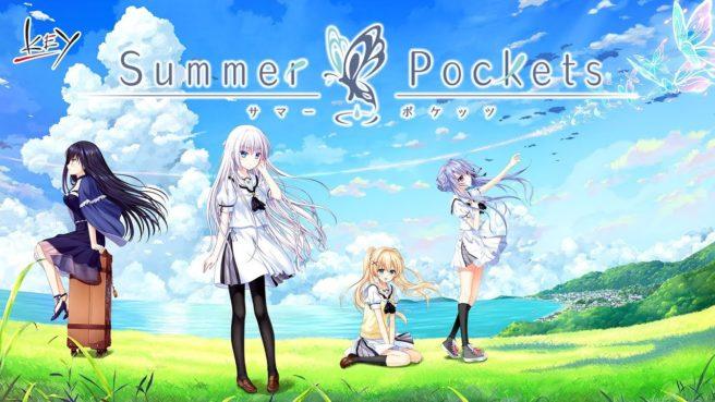 Prototype anuncia a visual novel Summer Pockets para o Nintendo Switch