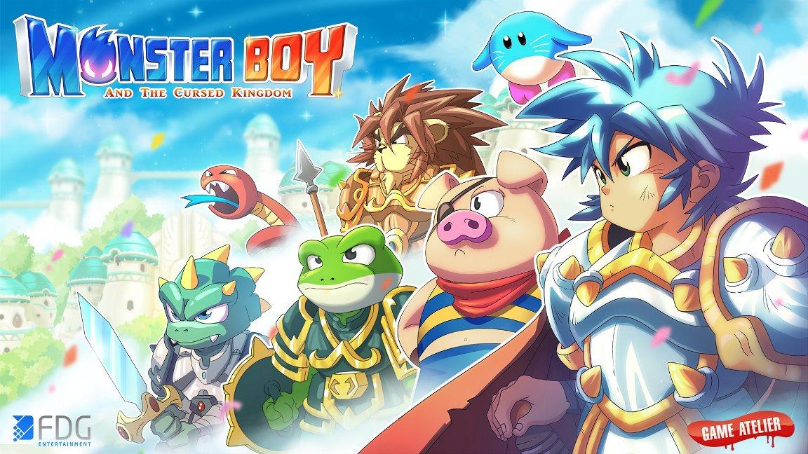 [Switch] FDG Entertainment divulga as vendas iniciais de Monster Boy and the Cursed Kingdom