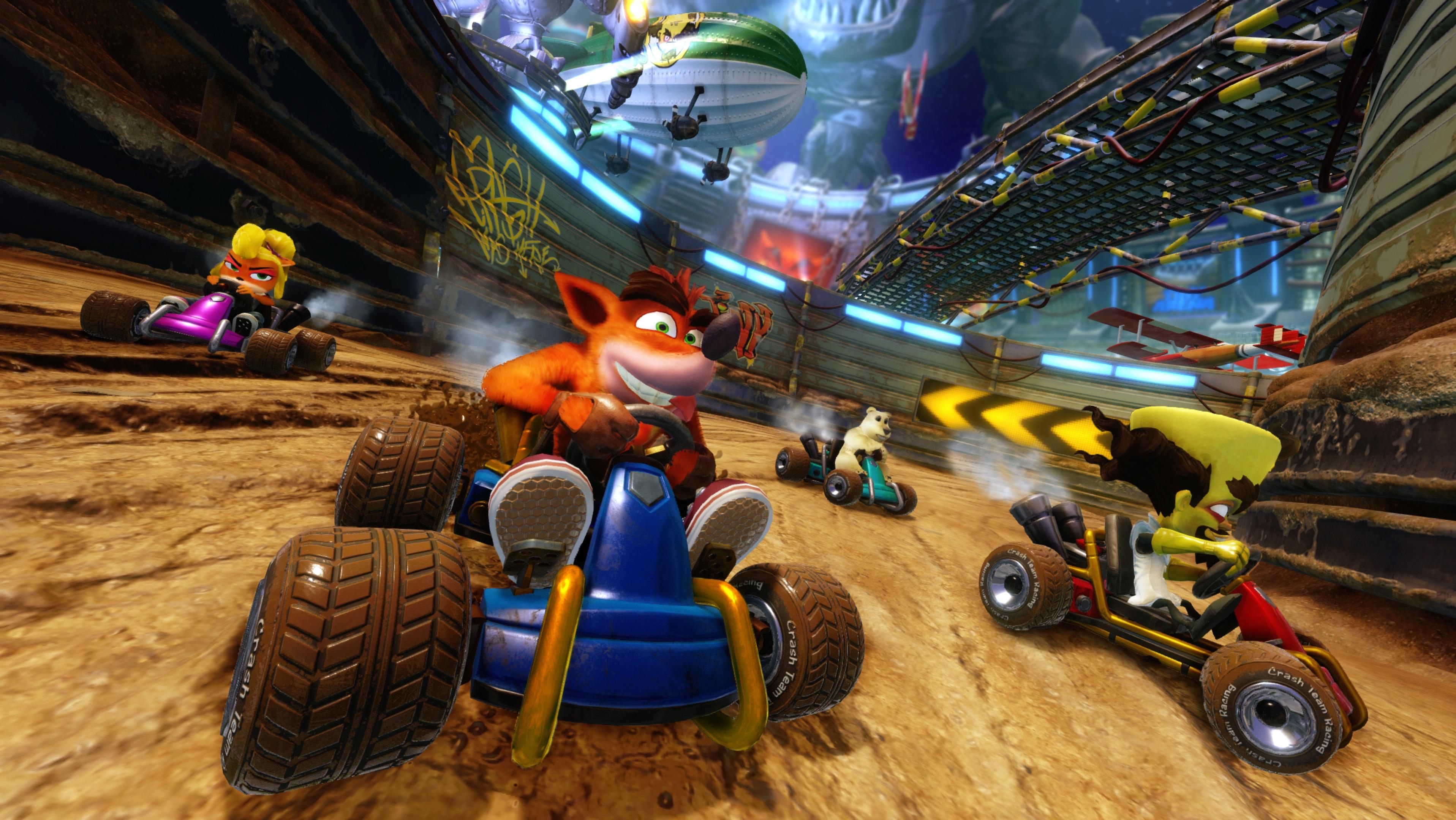Activision anuncia Crash Team Racing Nitro-Fueled para o Nintendo Switch