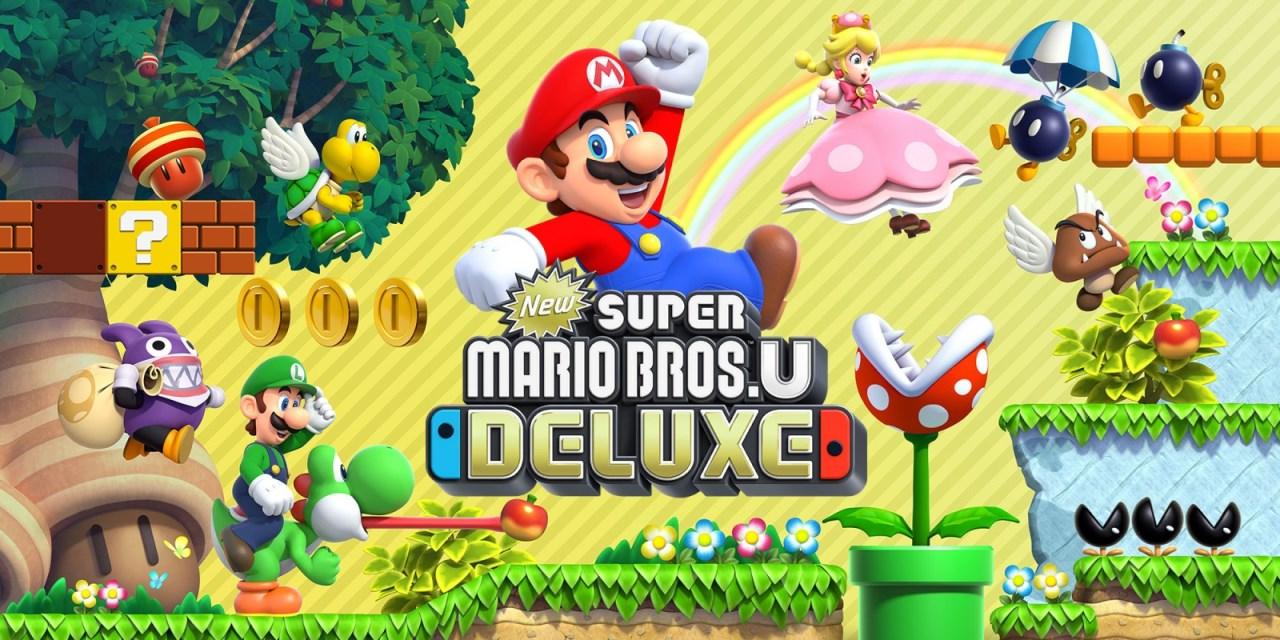 [Switch] New Super Mario Bros. U Deluxe tem suas informações reveladas