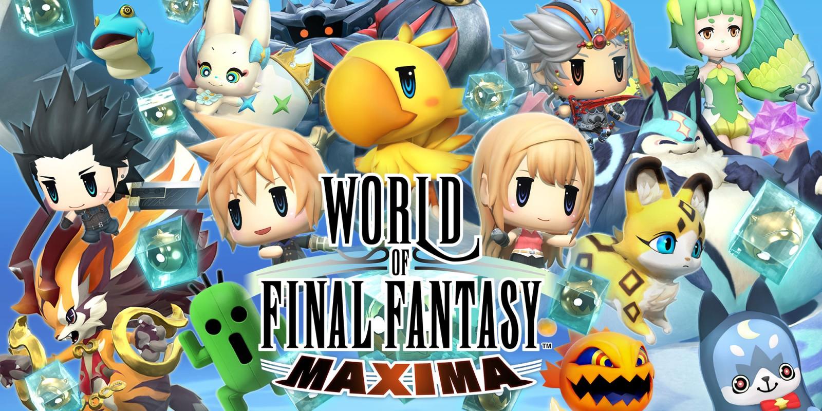 [Switch] World of Final Fantasy Maxima está com 50% de desconto na eShop