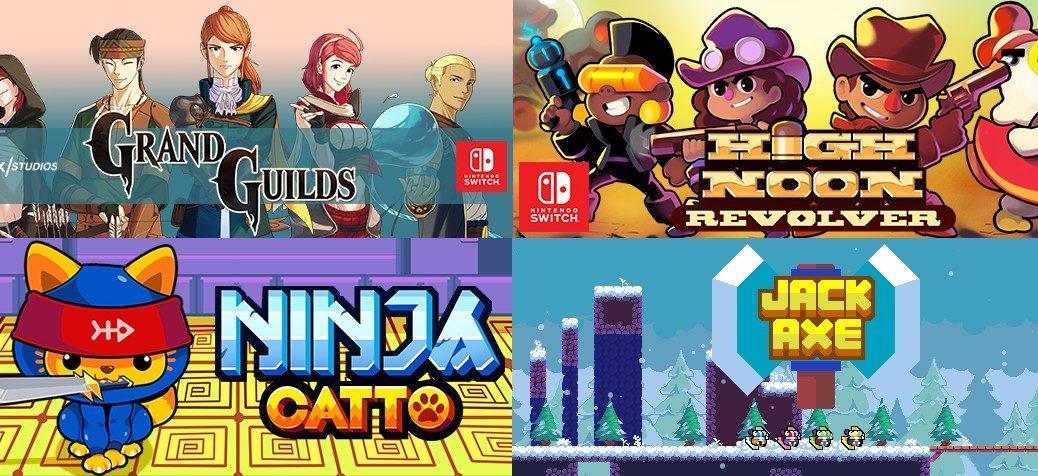 Keybol Games confirma quatro jogos para o Switch