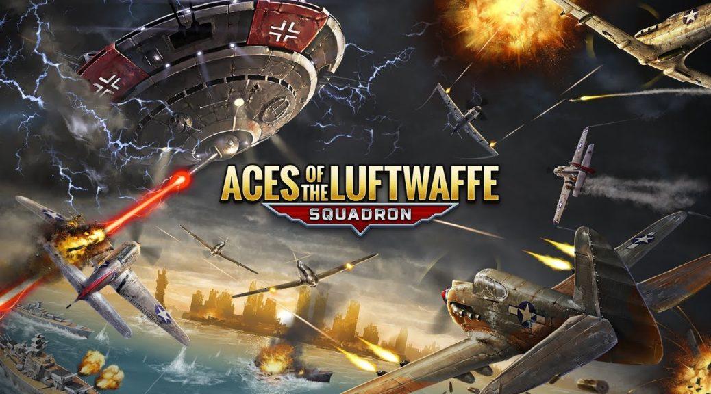 [Switch] Aces Of The Luftwaffe Squadron  ganhará edição física pela THQ Nordic