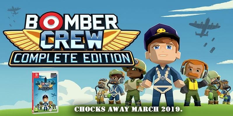 [Switch] Bomber Crew: Complete Edition receberá edição física pela Merge Games