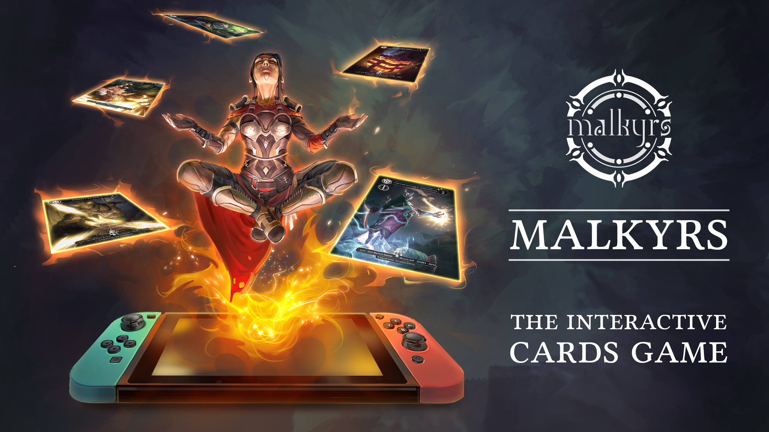 Malkyrs: The Interactive Card Game chegará ao Nintendo Switch