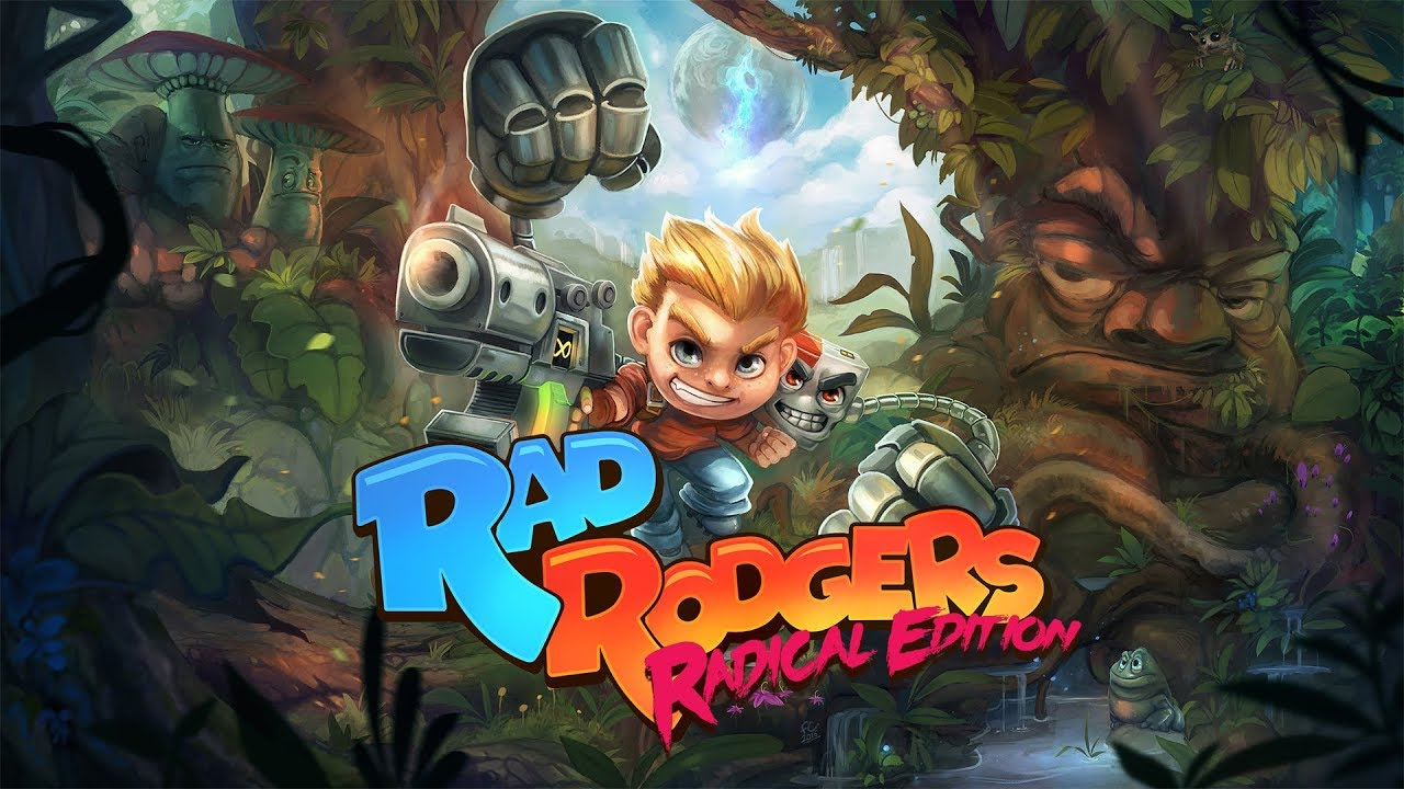 THQ Nordic anuncia oficialmente Rad Rodgers: Radical Edition para o Nintendo Switch; trailer